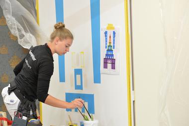 Jessica Jörges kam am Ende auf einen hervorragenden 5. Platz