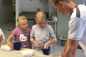 In der alten Kellerwerkstatt finden heute zum Beispiel Kindergeburtstage statt