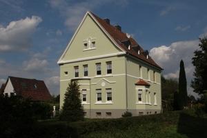 Das Wohnhaus in Recklinghausen nach Abschluss der Fassadensanierung im Juni dieses Jahres