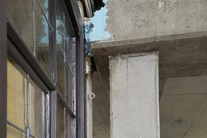 Aufgrund der zum Teil historischen Bausubstanz fanden sich währen der Umbauarbeiten auch alte Fenster im Bestand
