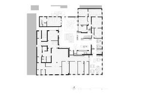 Grundriss Obergeschoss, Maßstab 1:400