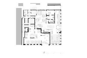 Grundriss Erdgeschoss, Maßstab 1:400
