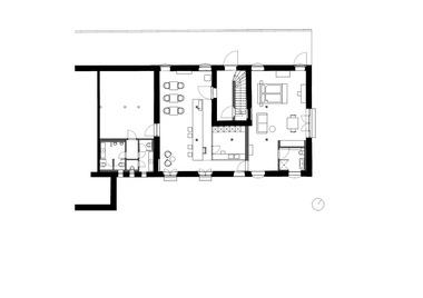 Grundriss Erdgeschoss, Maßstab 1:200