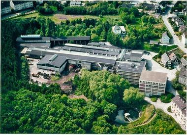 Der Unternehmenssitz in Wuppertal-Cronenberg