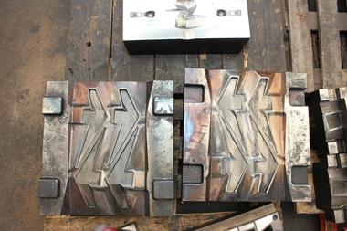 Gesenk für einen Schieferhammer