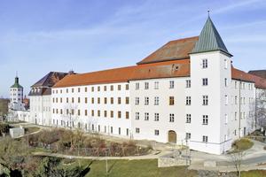 Im ersten Bauabschnitt wurde der Westflügel des Günzburger Schlosses saniert