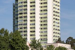 Gewinner in der Kategorie Wohnbauten: Hochhaus in Erlangen