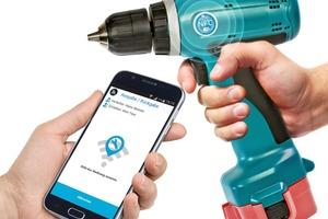 Alle Betriebsmittel sind mit NFC-Tags gekennzeichnet und können so schnell einem Mitarbeiter zugeordnet werden