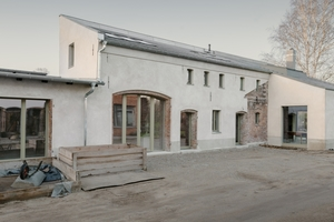 """Siegerin des Velux Architekten-Wettbewerbs ist Architektin Helga Blocksdorf aus Berlin mit ihrem Projekt """"Remise Rosé"""": Umbau einer denkmalgeschützten Remise in BerlinFotos: Simon Menges"""