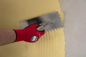 Putz 6-8 mm dick auftragen