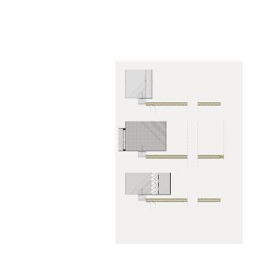 Schnitt Treppenpodest, Maßstab 1:10 Schnitt Treppe, Maßstab 1:10 Schnitt Galerie, Maßstab 1:10 1 Rundstab 10 mm 2 Flachstahl 6 mm