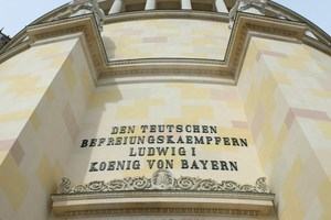 Detail der wiederhergestellten FarbfassungFoto: Bayerische Schlösser- und Seenverwaltung