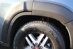Gut für die Imagepflege: Die sportlichen 16-Zoll-Leichtmetallfelgen des zweiten Testwagens