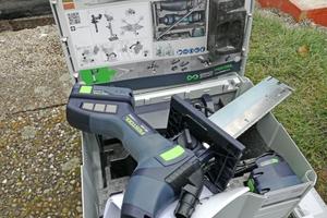 Das Werkzeugset im dazugehörigen Systainer von Festool