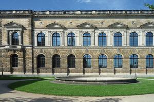 Die Sempergalerie ist ein vom Architekten Gottfried Semper von 1847 bis 1854 errichteter Museumsbau im Stil der italienischen Hochrenaissance im Stadtzentrum von Dresden