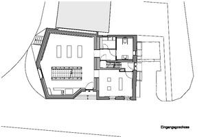 Grundriss Erdgeschoss, Maßstab 1:200Zeichnungen: Webler + Geissler Architekten
