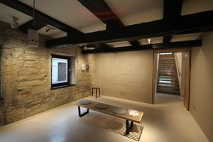 Ausstellungsraum im Geburtshaus von Tobias Mayer
