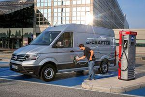Der e-Crafter von Volkswagen Nutzfahrzeuge deckt die realen Anforderungen des täglichen Einsatzes in der Logistik und im Handwerk ab