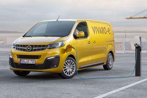 """Beim """"Opel Vivaro-e"""" kann man zwischen zwei verschiedenen Batteriegrößen je nach Einsatzzweck wählen<br />Foto: Opel"""