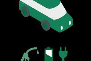 Plug-in-Hybrid:<br />Der Stromspeicher in Plug-in-Hybriden kann zusätzlich über das Stromnetz aufgeladen werden. Auch hier dient die Batterie als Speicher von Brems-energie
