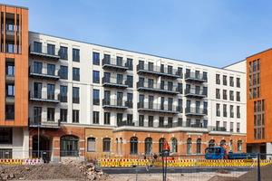 Insgesamt 246 neue Mietwohnungen entstanden in der neuen Residenz am Postplatz in Dresden