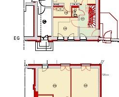 Erdgeschoss, ohne Maßstab