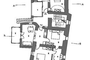 Grundriss 1. Obergeschoss, Maßstab 1:200<br />