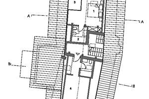 Grundriss Dachgeschoss, Maßstab 1:200<br />