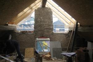 Das Dach wurde erneuert und ausgebaut