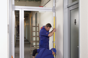 Damit Brandschutztüren ihre Anforderungen an Feuer- und Rauchschutz gewährleisten, müssen sie fachgerecht montiert sein