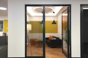 Pausenraum beziehungsweise kleiner Besprechungsraum
