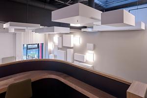 """Alle Gasträume bieten eigene Essensausgaben, aber in der """"Stahlstraße"""" befindet sich die größte mit 190 Plätzen, die sich auf ein Erdgeschoss und eine Galerie verteilen"""