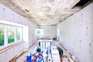 """Das Raumklimasystem """"TecTem""""<sup> </sup>besteht nicht nur aus den Dämmplatten sondern bietet alle Komponenten für die fertige Wand<br />Foto: Knauf Performance Materials / Ekkehard Reinsch"""