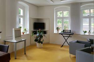 Nach der Komplettsanierung stehen auch die Räume im Haus B9 den Patienten der Sächsischen Klinik Rodewisch wieder zur Verfügung