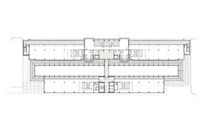Grundriss 2. Obergeschoss, ohne Maßstab<br />Zeichnungen: LH Architekten Landwehr Henke und Partner
