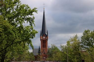 Zu ihrem 130. Geburtstag werden die Sanierungsarbeiten an Dresdens St.-Petri-Kirche erstmals vollständig abgeschlossen sein