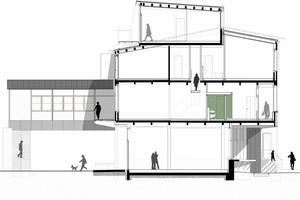 Schnitt, ohne MaßstabZeichnungen: Eyrich Hertweck Architekten