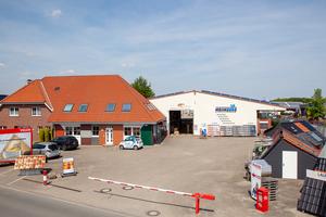 Der Stammsitz des Online-Fachhändlers Dachdeckermarkt24 in Wettringen