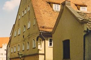 Das Handwerkerhaus in Augsburg in den 1970er Jahren