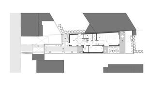 Grundriss Erdgeschoss, Maßstab 1:250<br />Zeichnungen: Spooren Architekten<br />