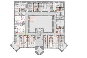 Grundriss, 2. Obergeschoss, ohne Maßstab