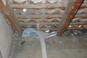 Dämmen einer ausgebauten, nicht gedämmten Dachschräge