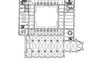 Grundriss Obergeschoss, Maßstab 1:750Zeichnungen: Korteknie Stuhlmacher Architecten