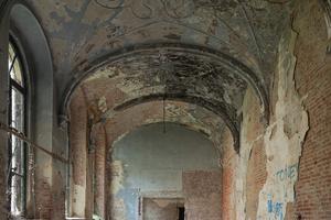 Nach über 40 Jahren Leerstand zeigte das Gebäude einen zum Teil baufälligen Zustand