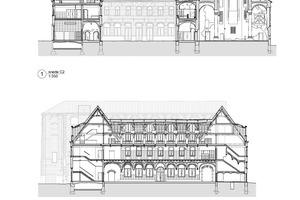 Schnitt, Maßstab 1:750Zeichnungen: Korteknie Stuhlmacher Architecten
