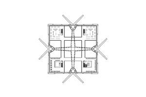 "Grundriss Obergeschoss, ohne Maßstab<span class=""bildnachweis"">Zeichnungen: gmp Architekten</span>"