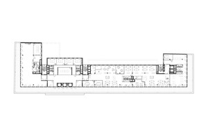 Grundriss 6. Obergeschoss, Maßstab 1:750