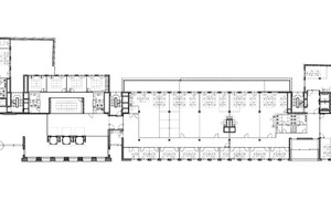 "Grundriss Erdgeschoss, Maßstab 1:750<span class=""bildnachweis"">Zeichnungen: sop architekten</span>"