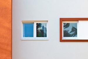 Durch intensive Farbgebung lassen sich Akzente am Gebäude setzen