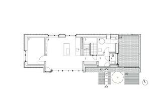 Grundriss Erdgeschoss, Maßstab 1:200<br />